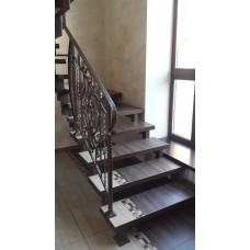 Металлокаркас лестницы Л2
