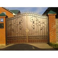 Ворота кованые ВК1