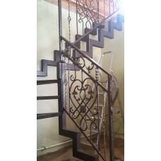 Металлокаркас лестницы Л1