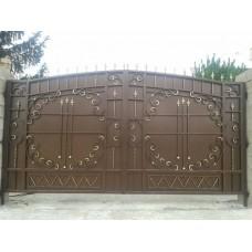 Ворота кованые ВК2