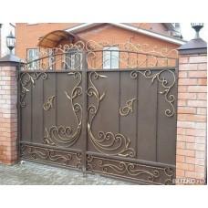 Ворота кованые ВК3