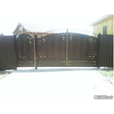 Ворота кованые ВК4