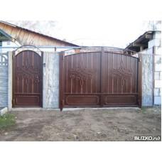 Ворота металлические ВМ3