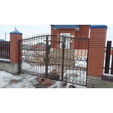 Ворота кованые ВК9