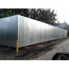 Забор из проф.листа ЗП3