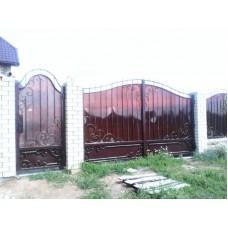 Ворота из поликарбоната ВП4