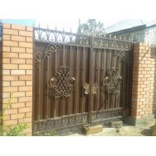Ворота кованые ВК6