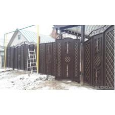 Ворота металлические ВМ4