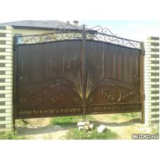 Ворота кованые ВК7