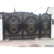 Ворота кованые ВК8