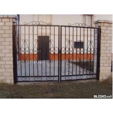 Ворота металлические ВМ7