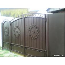 Ворота металлические ВМ9