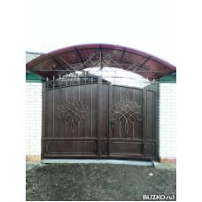 Ворота металлические ВМ10
