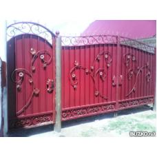 Ворота кованые ВК 10