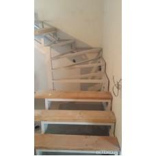 Металлокаркас лестницы Л4