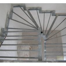 Металлокаркас лестницы Л5