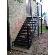 Металлокаркас лестницы Л6