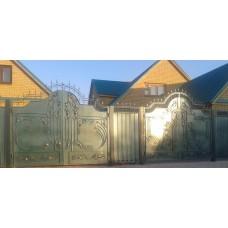 Ворота кованые ВК 11