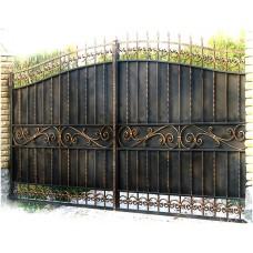 Ворота кованые ВК 12