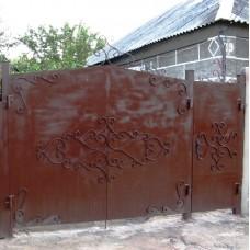 Ворота металлические ВМ11