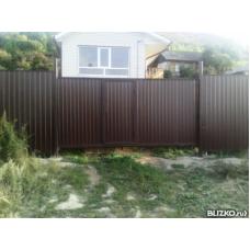 Откатные ворота ОВ8