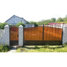 Ворота из поликарбоната ВП1