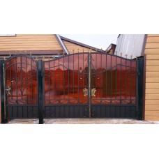 Ворота из поликарбоната ВП2
