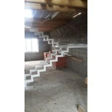 Металлокаркас лестницы Л7