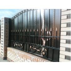 Забор металлический ЗМ7