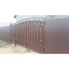 Ворота кованые ВК14