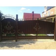 Ворота металлические ВМ12