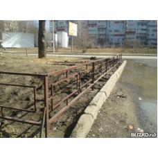 Забор металлический ЗМ9