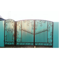 Ворота из профнастила ВПроф6