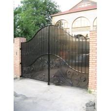 Ворота из поликарбоната ВП7