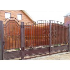 Ворота из поликарбоната ВП9