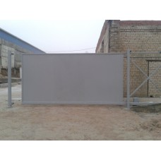 Откатные ворота ОВ14