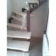 Металлокаркас лестницы Л10