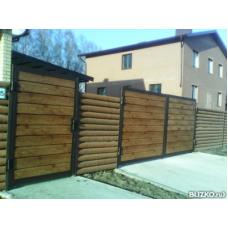 Ворота из профнастила ВПроф11