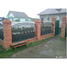 Забор металлический ЗМ10