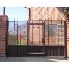 Ворота из поликарбоната ВП13