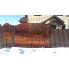 Ворота из поликарбоната ВП15