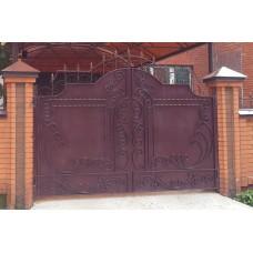 Ворота металлические ВМ15