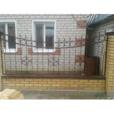 Забор металлический ЗМ1